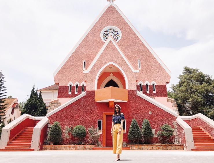 Địa điểm du lịch Đà Lạt: Nhà thờ Domaine