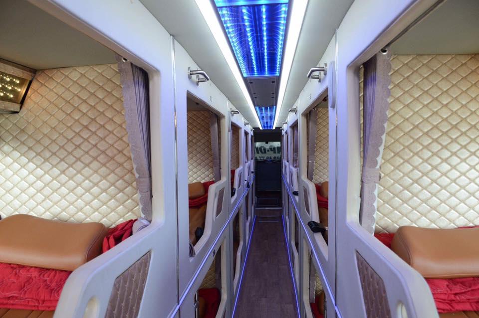 Xe giường nằm limousine Giáp Diệp