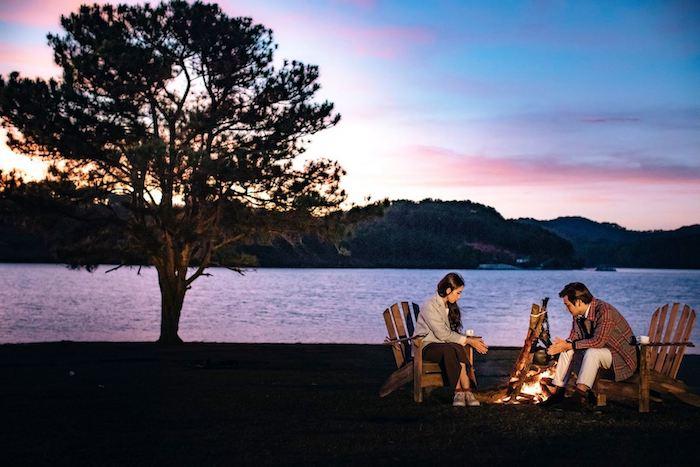 Du lịch Đà Lạt nên đi mùa nào là đẹp và lãng mạn nhất - Mùa Thu - Cắm trại ở Đà Lạt