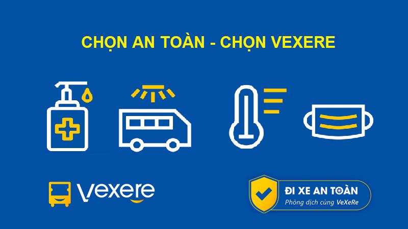 Mua vé xe an toàn tại VeXeRe