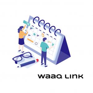メール不要の日程調整ツール waaq Link(ワークリンク)をリリースしました!