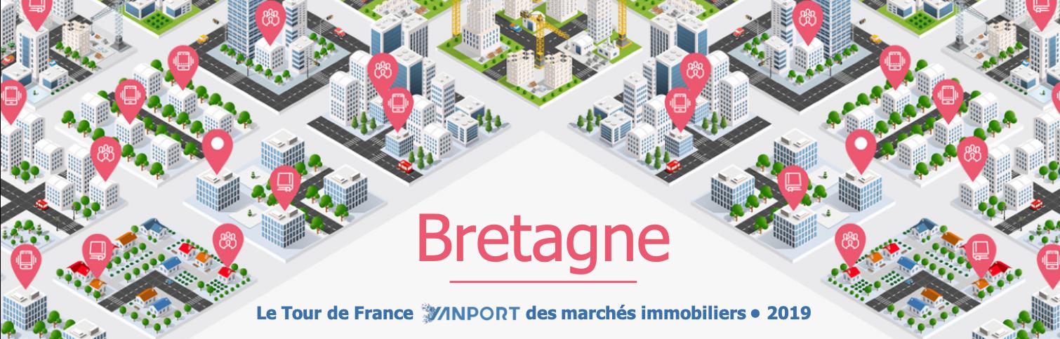 Tour de France Yanport des marchés immobiliers • Région Bretagne