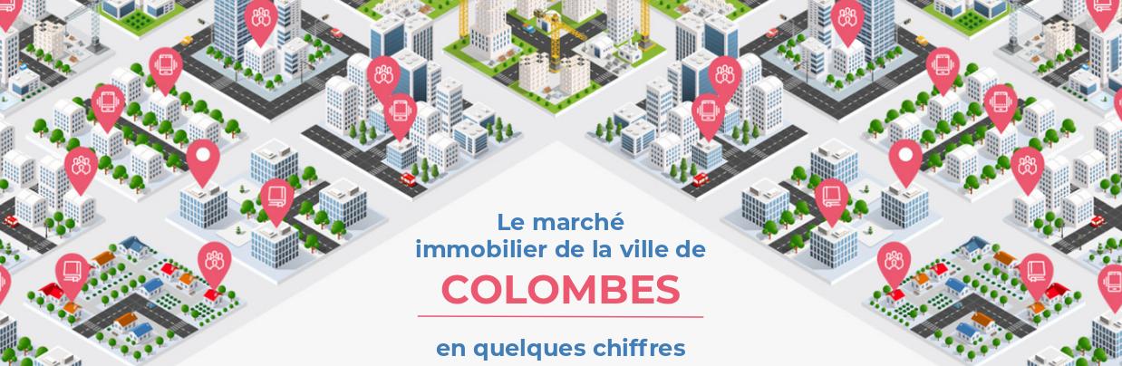 Colombes • Le marché immobilier en quelques chiffres