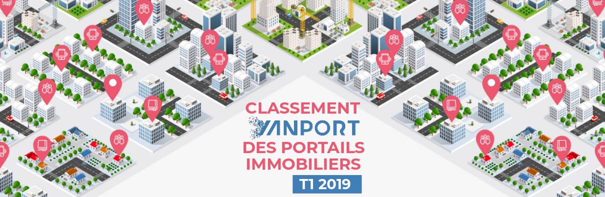 Classement des portails immobiliers • Yanport T1 2019