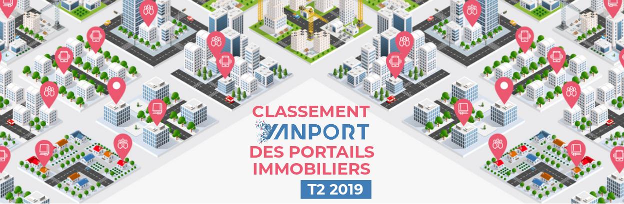 Classement des portails immobiliers • Yanport T2 2019