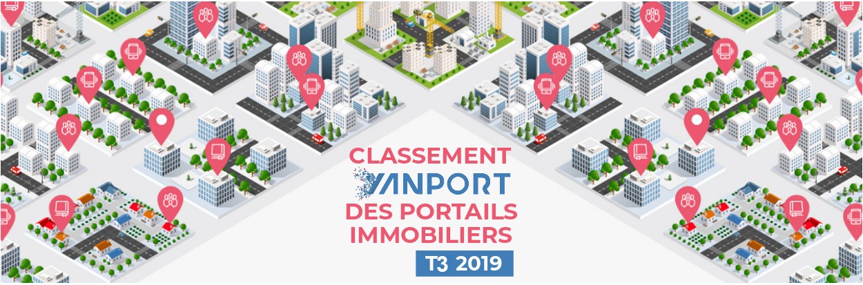 Classement des portails immobiliers • Yanport T3 2019
