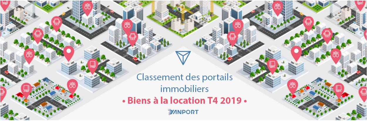 Classement des portails immobiliers • Biens à la location • Yanport T4 2019