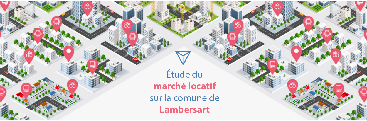 Etude du marché locatif sur  la commune de Lambersart (59130)