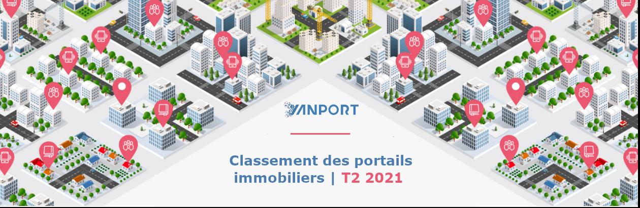 Classement des portails immobiliers | T2 2021