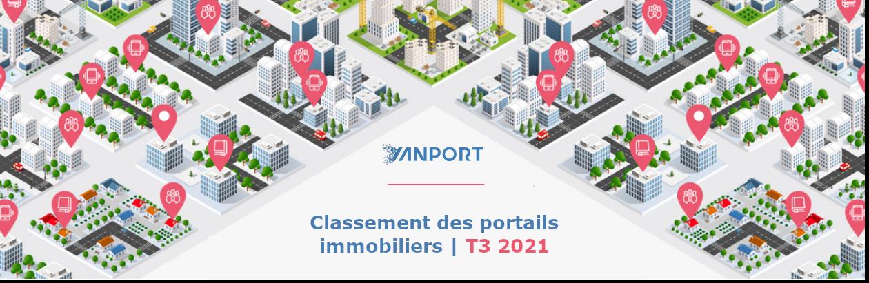 Classement des portails immobiliers | T3 2021
