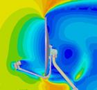 simulação tunel de vento