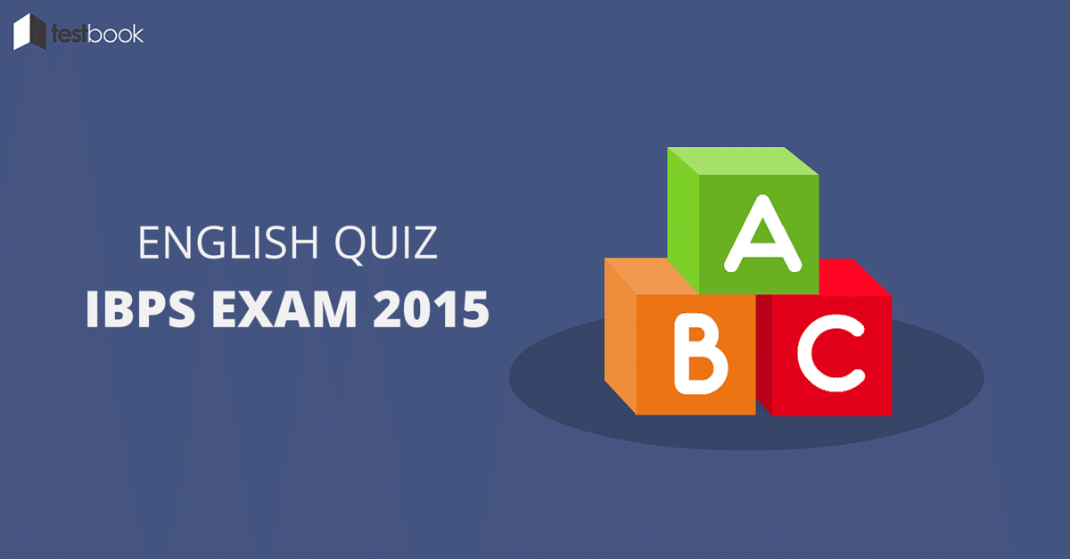 IBPS Clerk English Quiz