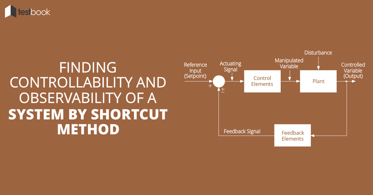 Finding Controllability and Observability of a System by Shortcut Method