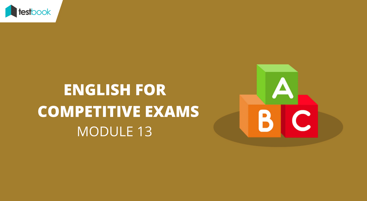 English for Competitive Exams Module 13 - SSC & Bank Exams