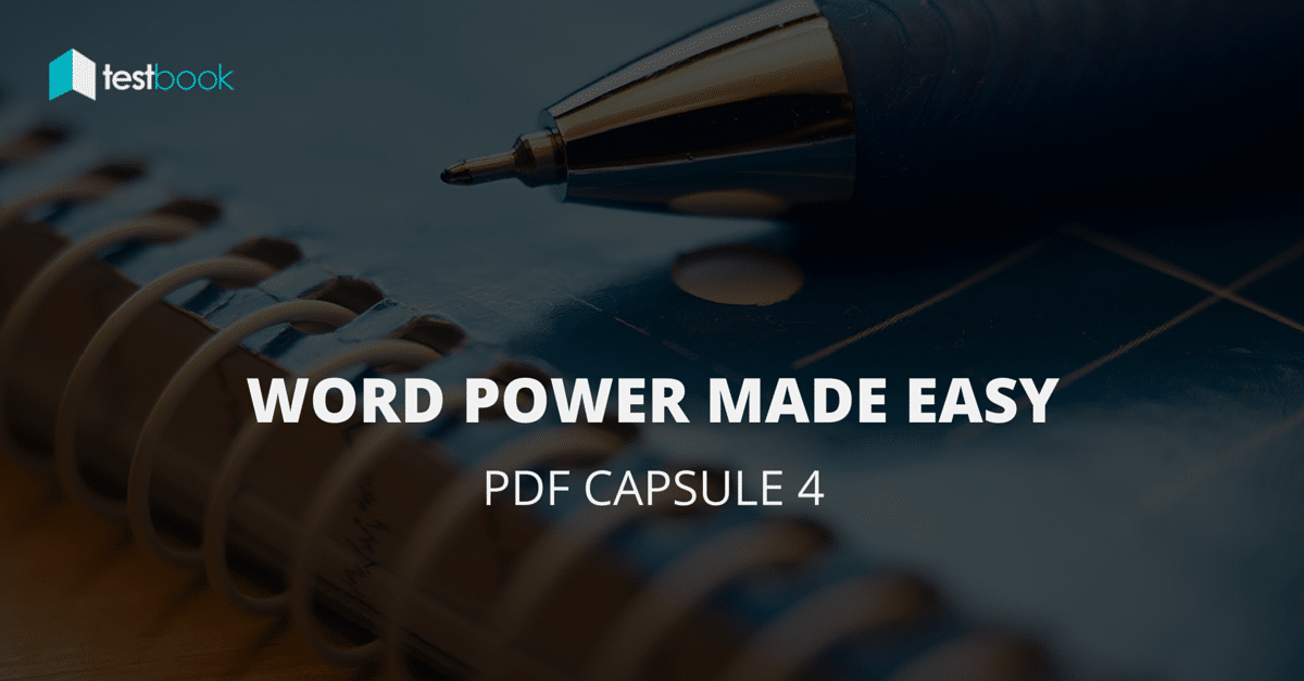 Word Power Made Easy PDF Capsule 4