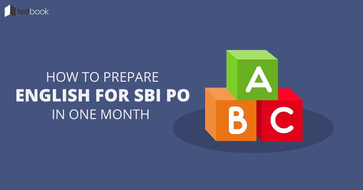 How to Prepare English for SBI PO 2016 in 1 Month