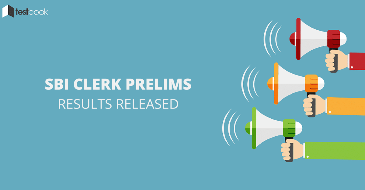 SBI Clerk 2016 Prelims Results Out
