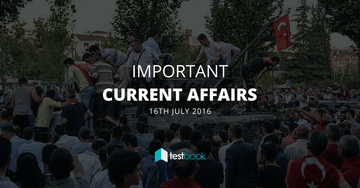 Important Current Affairs 16th July 2016 with PDF