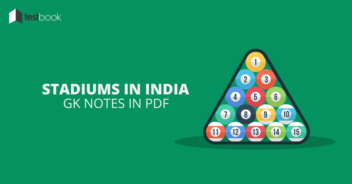 Stadiums in India GK Notes in PDF