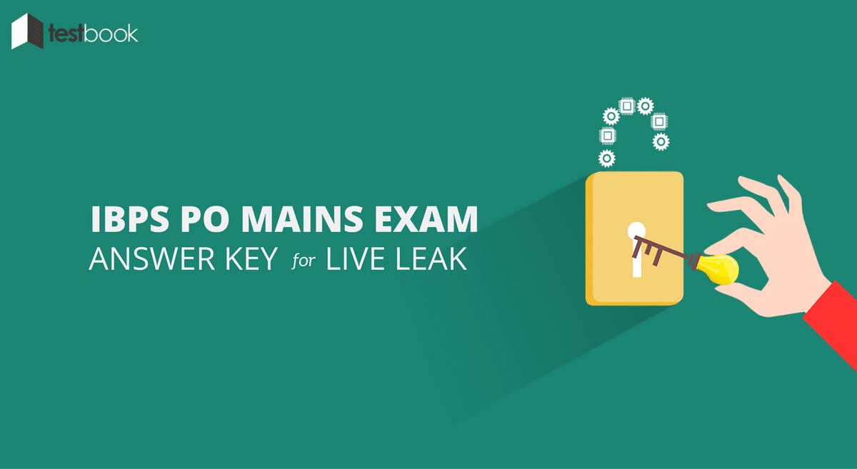 Answer Key for IBPS PO Mains 2016 Model Question Paper