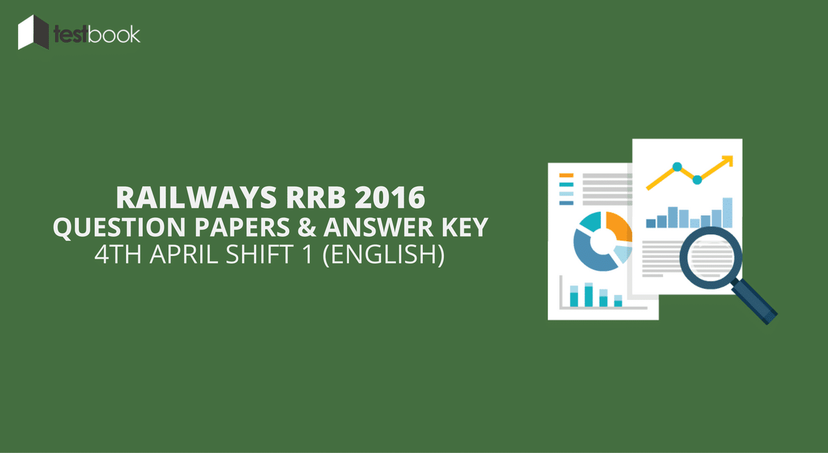 Official Railway RRB Question Paper 4th April 2016 Shift 1 in English with Answer Key