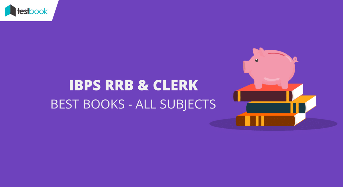 Best books for IBPS Clerk and IBPS RRB