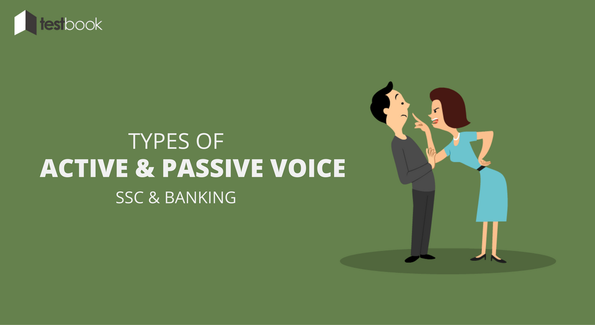 Types of Active and Passive Voice - For SSC, Banking Exams