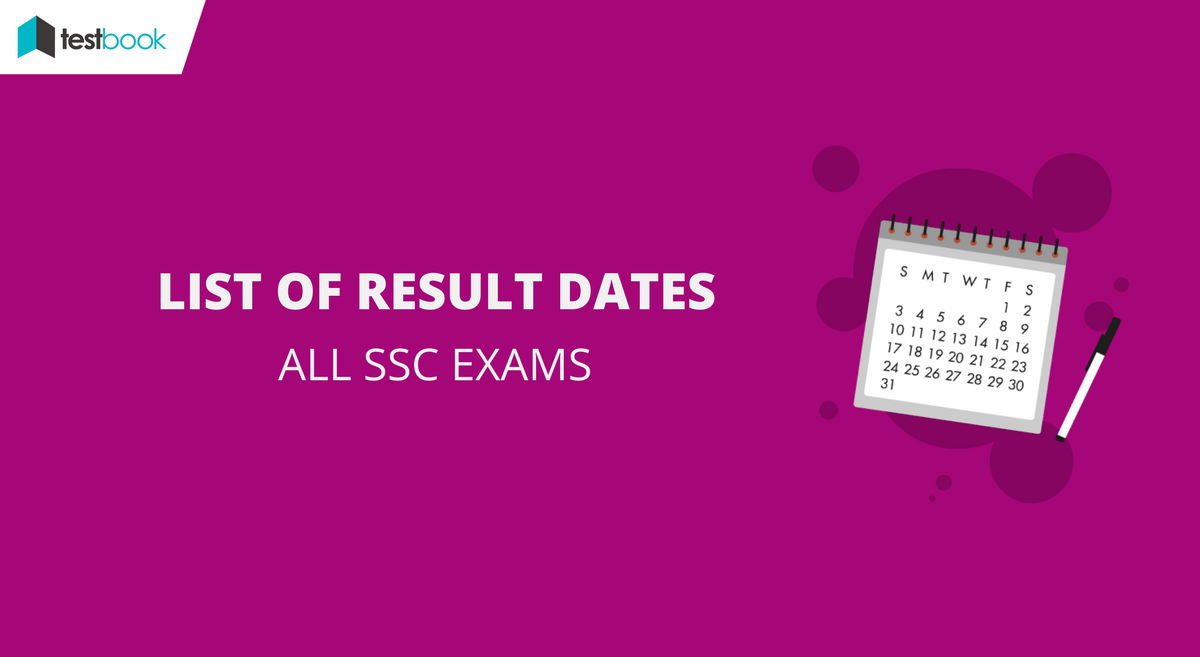 Official SSC Result Dates for All Exams