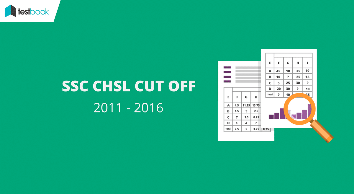 Official SSC CHSL Cut Off 2016 with Previous Year Trends