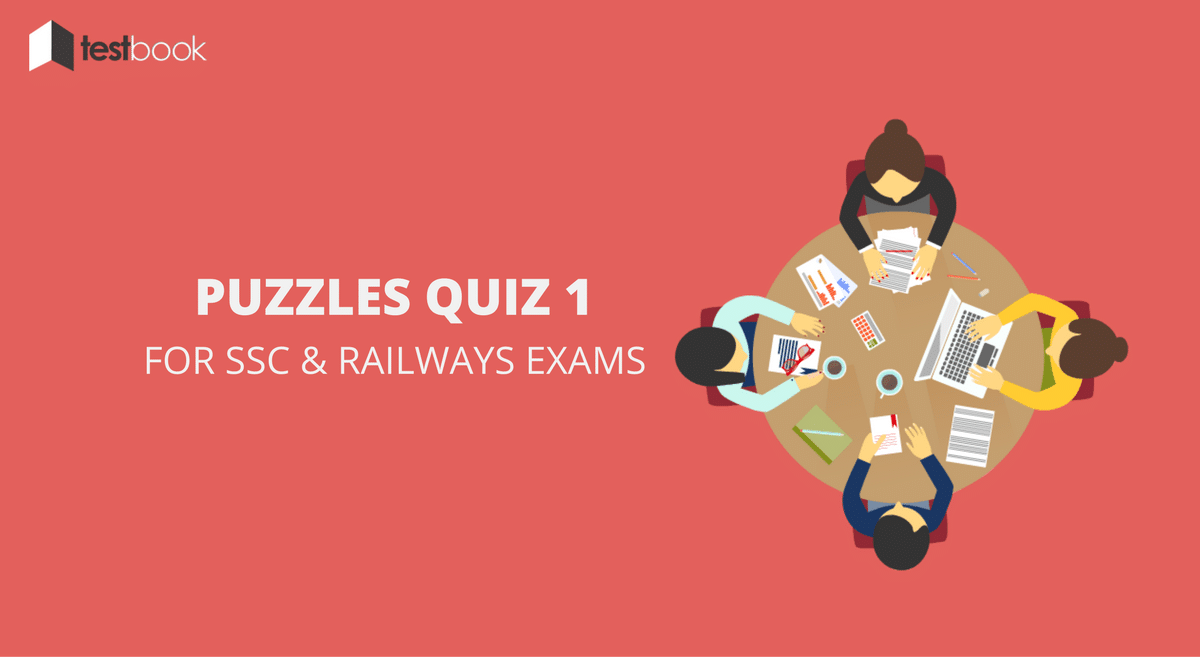 Puzzles Quiz 1 for SSC and Railways Exams