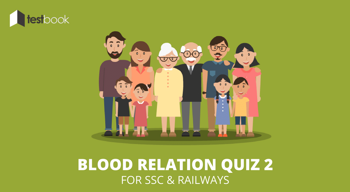 Blood Relation Quiz 2 for SSC and Railways Exams