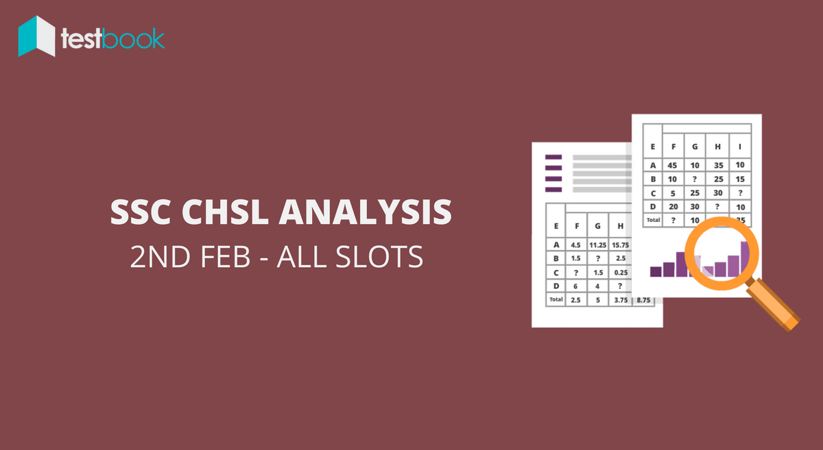 SSC CHSL Analysis 2nd February 2017 - Tier I (All Slots)