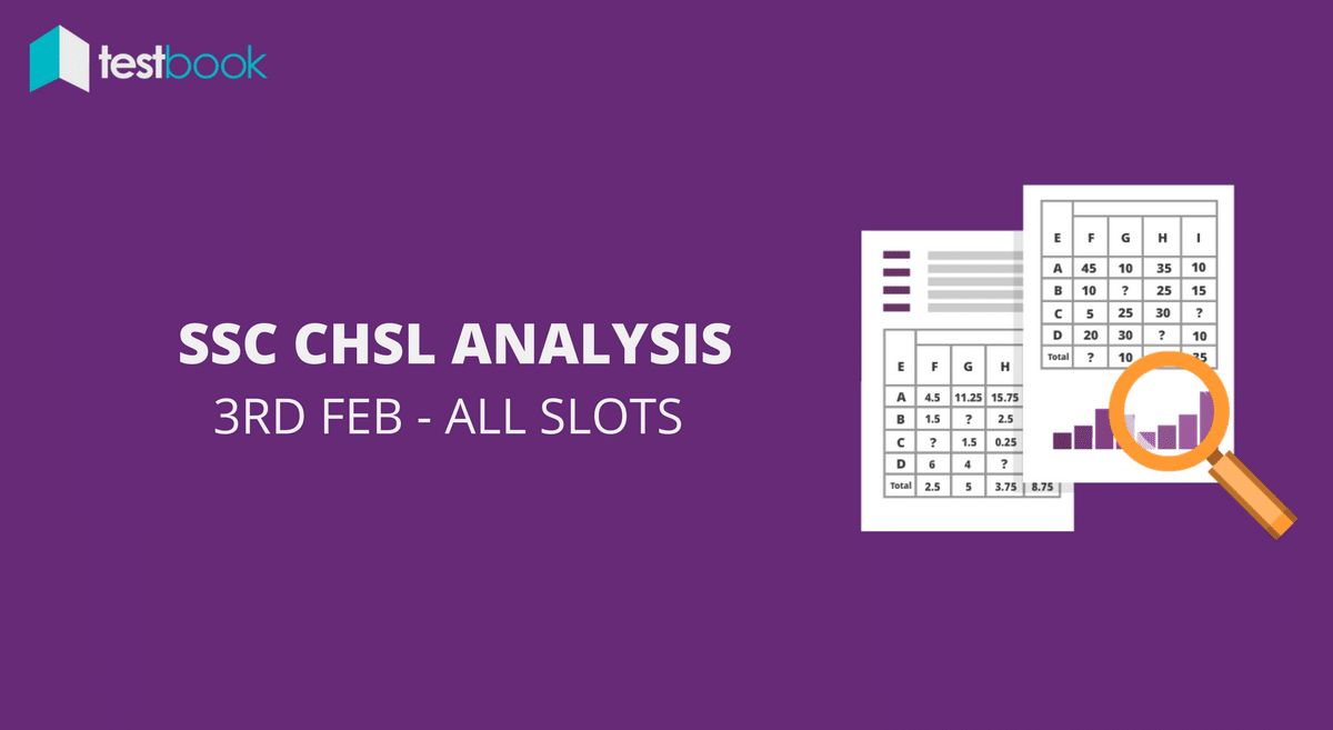 SSC CHSL Analysis 3rd February 2017 - Tier I (All Slots)