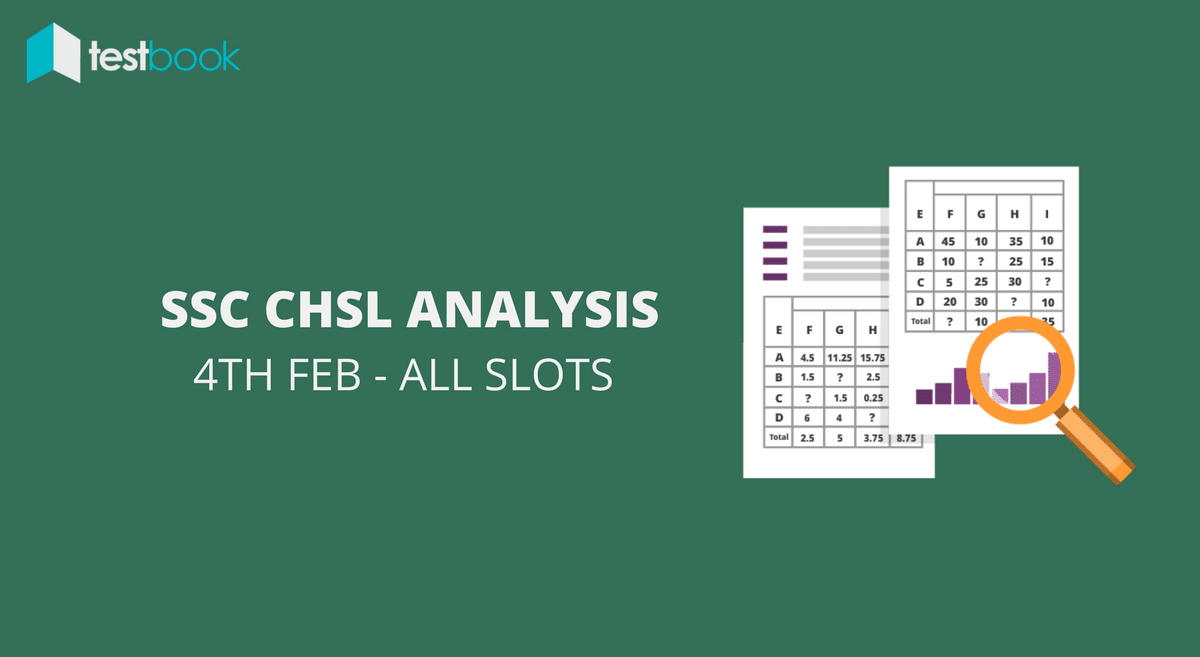 SSC CHSL Analysis 4th February 2017 - Tier I (All Slots)