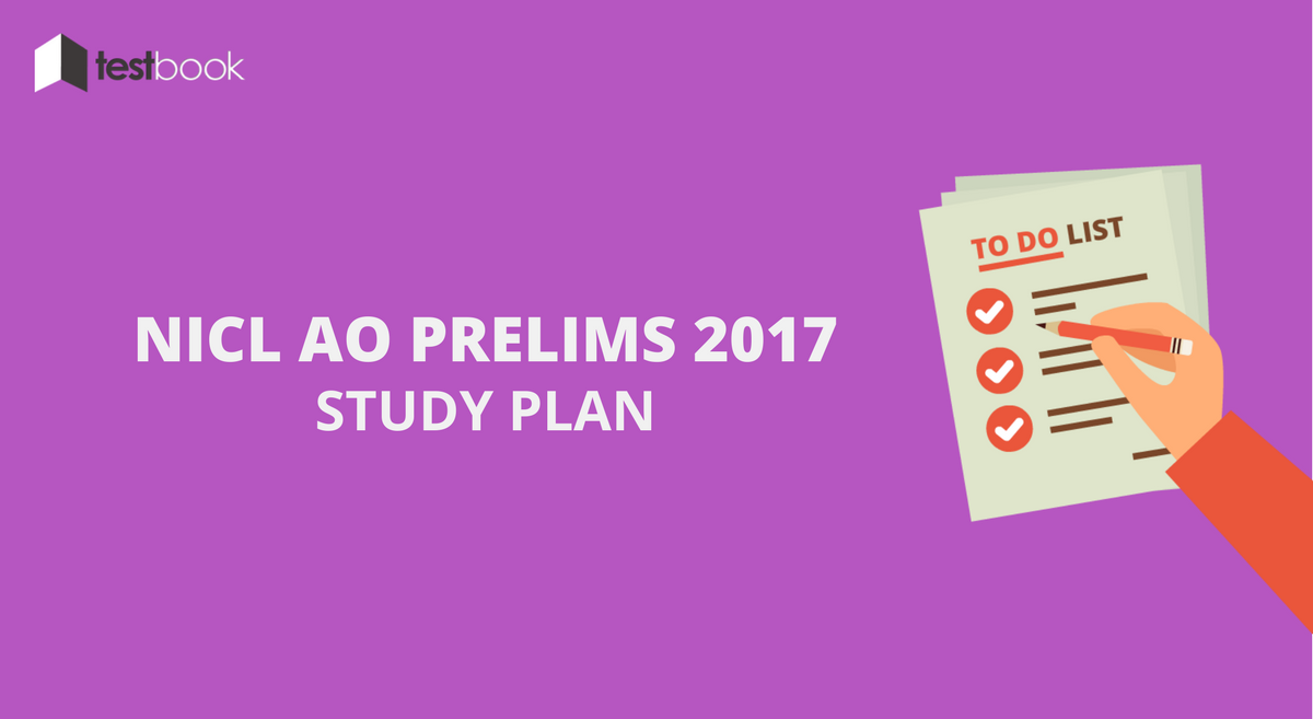 3 Week NICL Study Schedule & Tips for AO - Prelims 2017