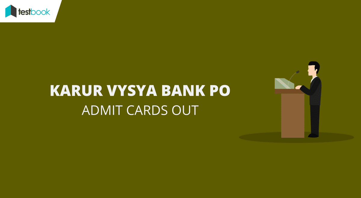 KVB PO Admit Card Out Now