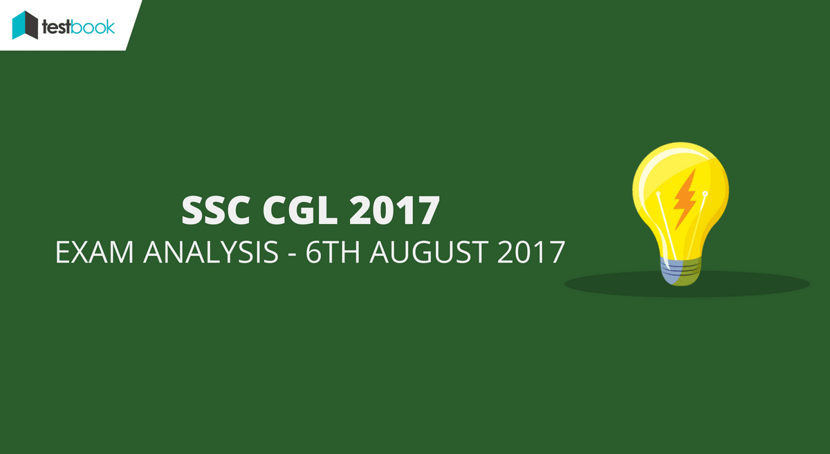SSC CGL Analysis 6th August 2017