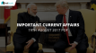 Current Affairs 19th August 2017