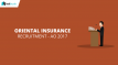 Oriental Insurance Recruitment