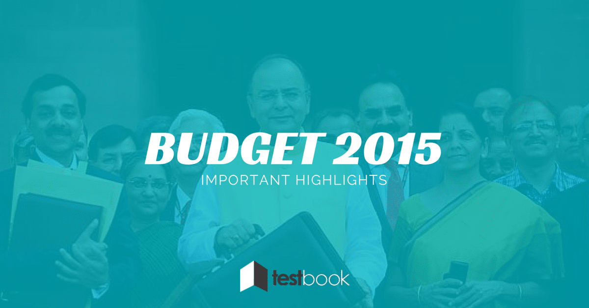 Budget 2015 Important Highlights in PDF