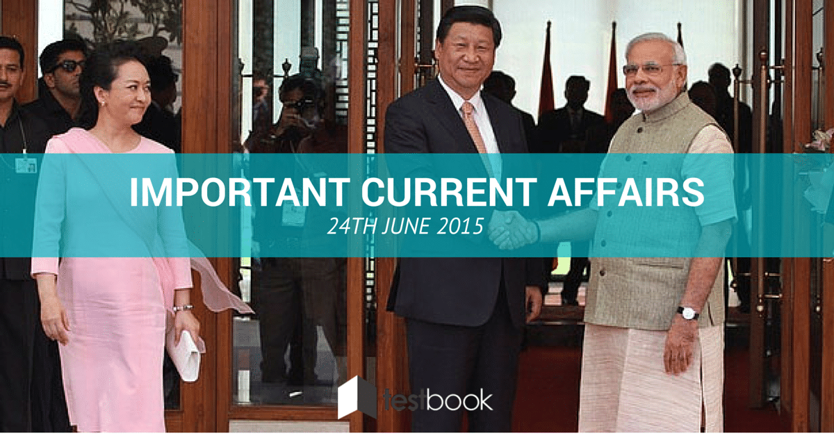 Important Current Affairs 24th 2015