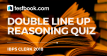 IBPS Clerk Reasoning Double line up Quiz 18 - Testbook