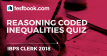 IBPS Clerk Reasoning Coded Inequalities Quiz 25 - Testbook