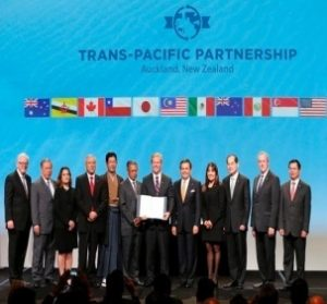 Trans Pacific Partnership Trade Deal Signed
