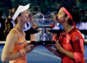 Mirza, Hingis Win St Petersburg Women's Doubles Title
