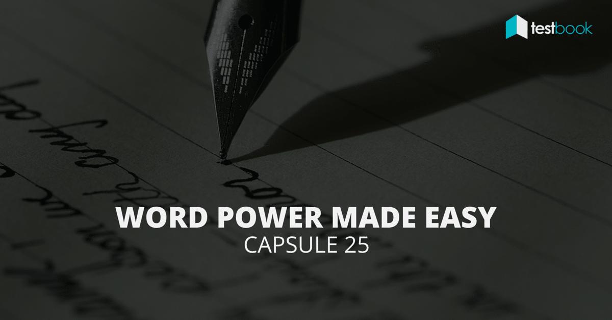 Word Power Made Easy PDF Capsule 25