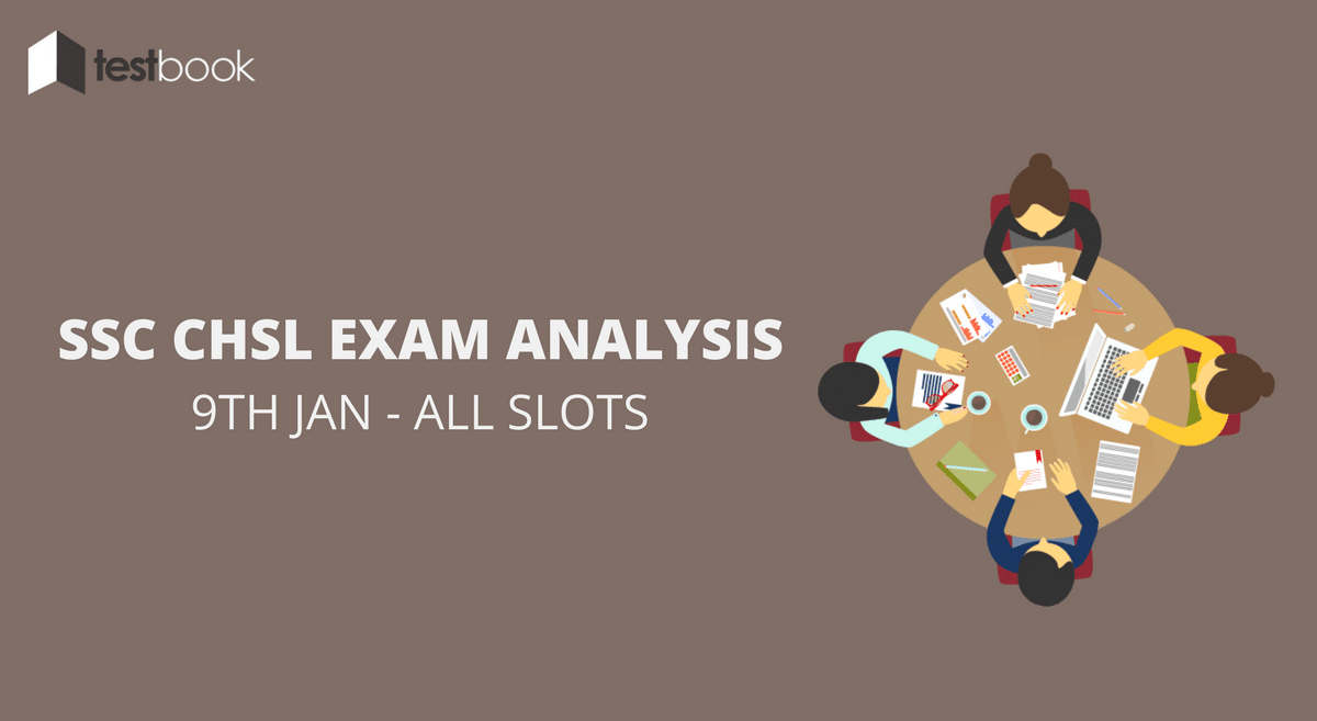SSC CHSL Analysis 9th January 2017 - Tier I (All Slots)