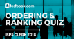 Ordering and Ranking Quiz 2 for Banking - Testbook