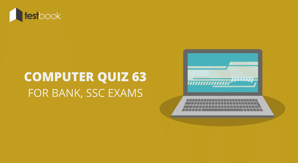 Computer Quiz 63 for Bank, SSC & Other Exams