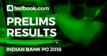 Indian Bank PO Results Testbook